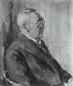 Portret van Johannes Philippus Suijling (1869-1962)