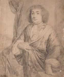 Portret van 'Mijn Heer Strick'