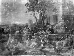 Vechtpartij op straat