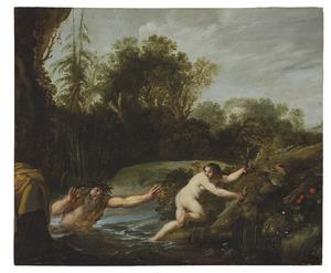 Alpheus belaagt Arethusa