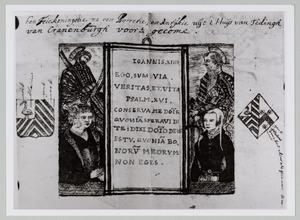 Portret van Jan Joostsz. Teding van Crabbenburch (?-1534) en een onbekende vrouw