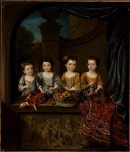 Portret van de dochters van Sir Matthew Decker (1679-1749)