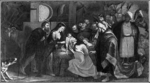 De aanbidding der koningen (Matteüs 2:1-12)