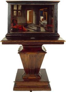 Perspectiefkast met een interieur