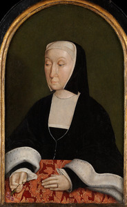 Portret van Magdalena van Werdenburg (1464-1538)
