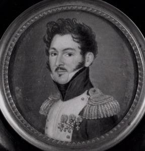 Portret van Lambert Joseph Corneille Antoine Marie de Stuers (1784-1866)