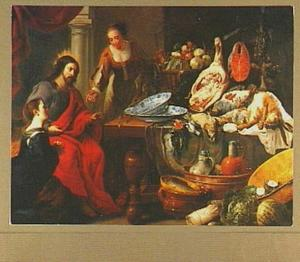 Christus bij Maria en Martha