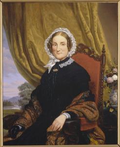 Portret van Vrouwe W.S. Hondorff-Block