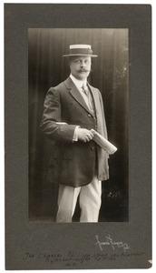 Portret van Charles Philippe Louis van Kinschot (1868-1921)