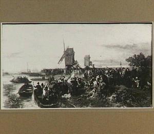 De Geuzen voor Leiden in 1574