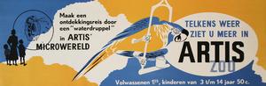 Tram-Affiche: Telkens weer ziet u meer in Artis Zoo, Artis Microwereld
