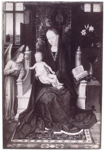 Maria met kind en engel