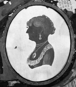 Portret van Agatha Wigeri (1783-1862), of haar zusters  Sytske Wigeri (....-....)of Johanna Catharina Wigeri (1788-1872)