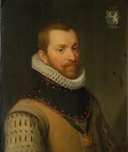 Portret van een man genaamd Nicolaas Ruychaver (1535-1577)
