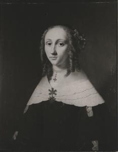 Portret van Wibbina de Drews (1632- )
