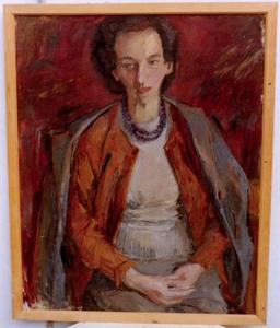 Portret van Joke Hartman-Elias (1906-2004)