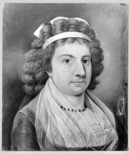 Portret van Elisabeth Catharina van der Haer (1776-1823)