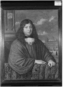 Portret van mogelijk Jacob le Gouche (1640-1680)
