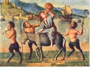 Silenus en de Satyrs