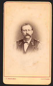 Portret van Gerrit Johan Buyskes (1841-1894)