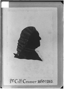 Portret van Joannes Wilhelmus Cramer (1715-1789)