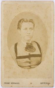 Portret van Antonetta Maria Homburg (1845-1913)