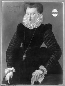 Portret van Maria (van) Bodegem (1560- )