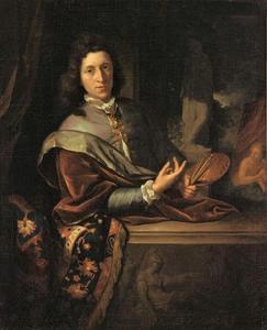 Zelfportret van Pieter van der Werff (1665-1722)