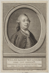 Portret van Willem Frans Godart van Lynden (1729-1787)