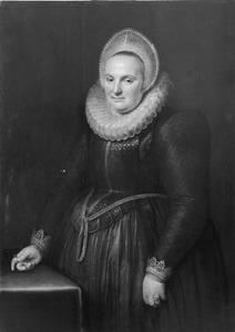 Portret van Adriana Bom van Cranenburgh (1567- )