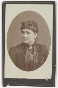 Portret van Willemina Augustina Salverda (1845-1917)