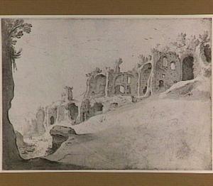 Domus Augustanus en paleis van Septimius Severus op de Palatijn te Rome