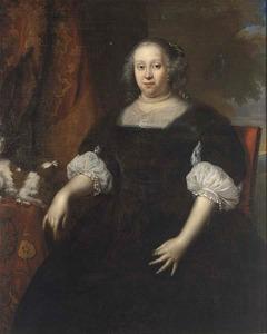 Portret van Geertruid Margaretha van Varick ( -1666)