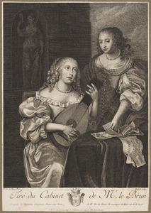 Twee zingende vrouwen