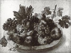 Schaal met vruchten