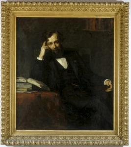 Portret van G. (Gijsbert) van Tienhoven (1841-1914)