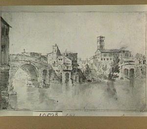 Rome, Ponte San Bartolomeo en de Isola Tiberina