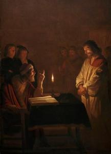 Christus voor de hoge priester