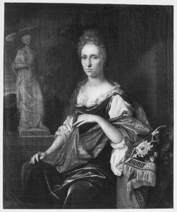 Portret van Sophia de Lange (1663-1706)