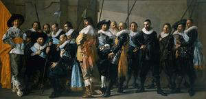 Korporaalschap van kapitein Reynier Real (1588-1648) en luitenant Cornelis Michielsz. Blaeuw (?-?), Amsterdam, 1633-1637
