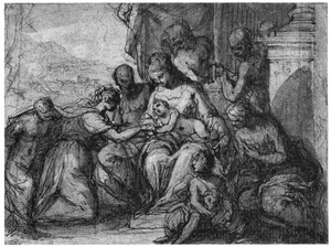 Het mystieke huwelijk vande H. Catharina