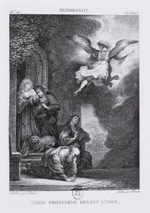 Tobie prosterné devant l'ange (authentiek)