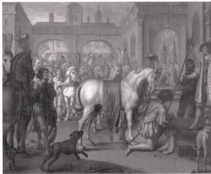 Kroning van Koning Hans in Stockholm in 1497