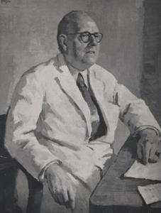 Portret van G.C.E. Burger