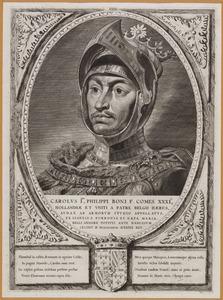 Portret van Karel 'de Stoute' (Capet) van Bourgondie (1433-1477)
