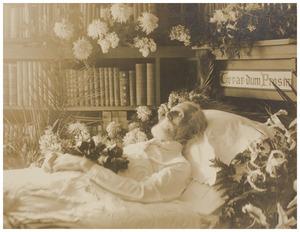 Doodsbedportret van Ferdinand Domela Nieuwenhuis (1846-1919)