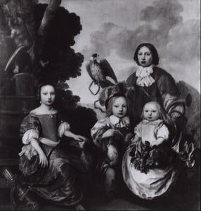 Portret van de kinderen Gerlacius
