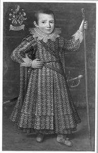 Portret van Joannes Francois van der Laen (1617-1664)