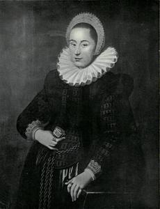 Portret van een 28-jarige vrouw