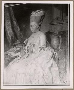 Portret van Everdina Petronella van Hogendorp (1730-1794)